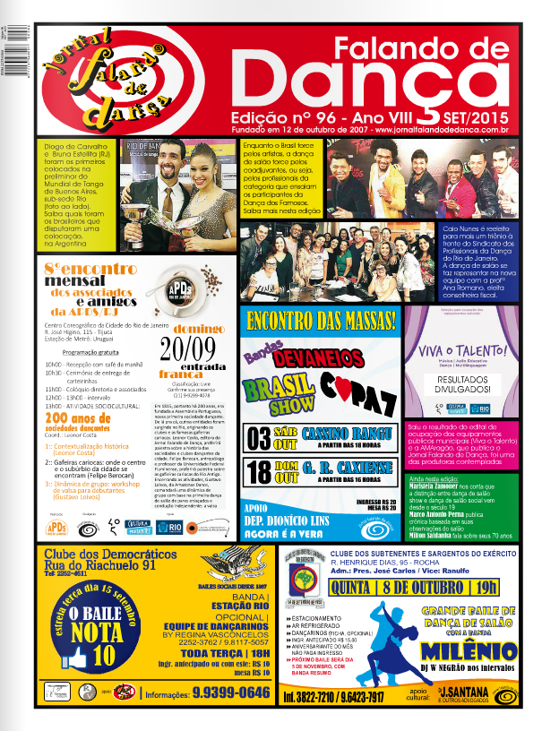 Leia on line a ed 96 (Setembro/2015)