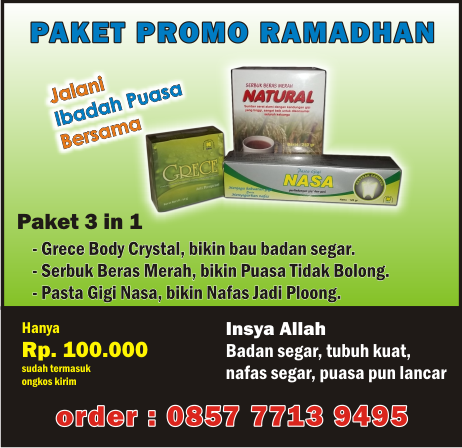 promo produk kesehatan nasa
