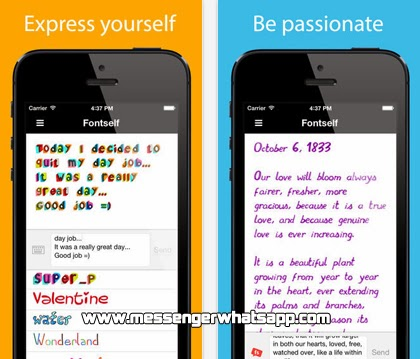 Descarga gratis Fontself Pix para teléfonos iPhone con WhatsApp.