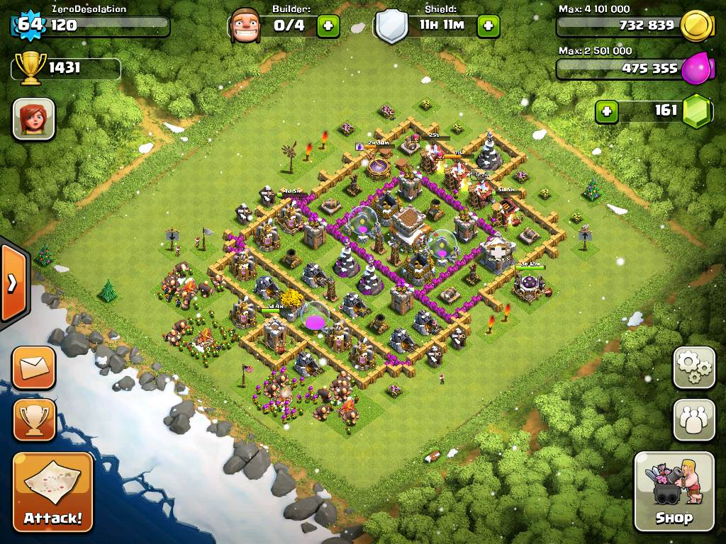 Clash of Clans Base Design Level 7