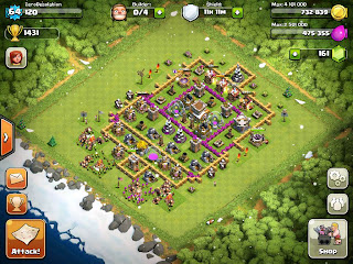 ZeroDesolation: Clash of Clans on Clans Plus My New Base Design