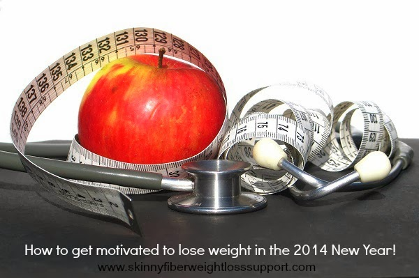 Skinny Fiber Weight Loss. How to get motivated to lose weight in the 2014 New Year!