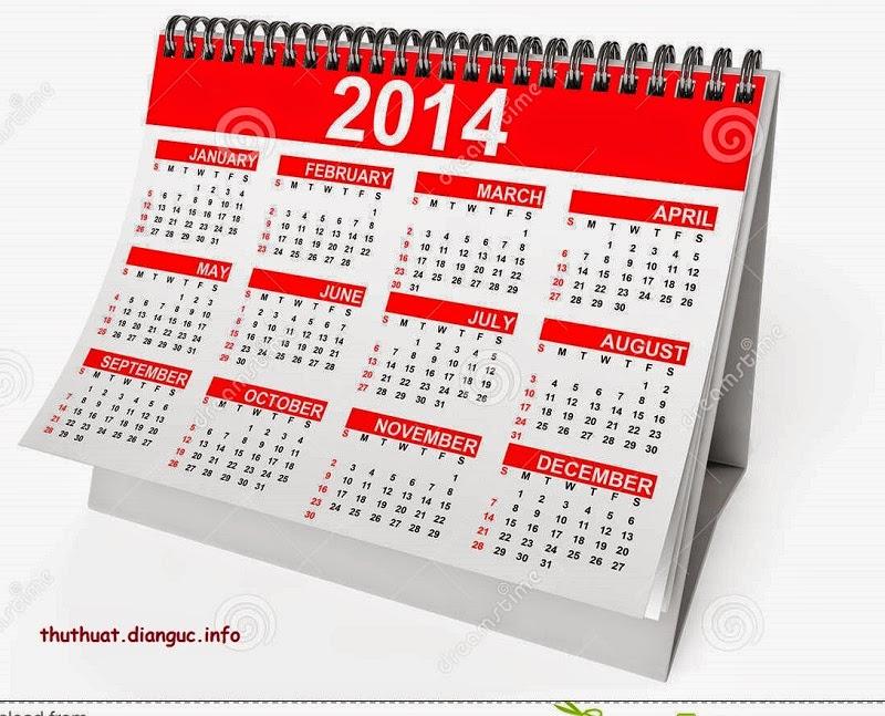 Download Desktop Calendar 2.0.1 – Lịch vạn niên trên desktop