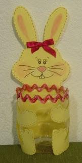 coelho de gararafa Lembrancinhas para Páscoa e moldes