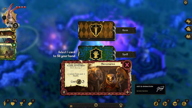 Armello Review card selection
