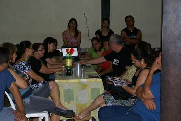 Reunião para traçar estratégias para a rede de casais
