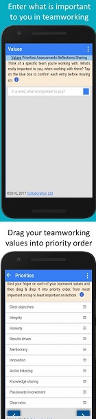Android App of the Week - My Team Values