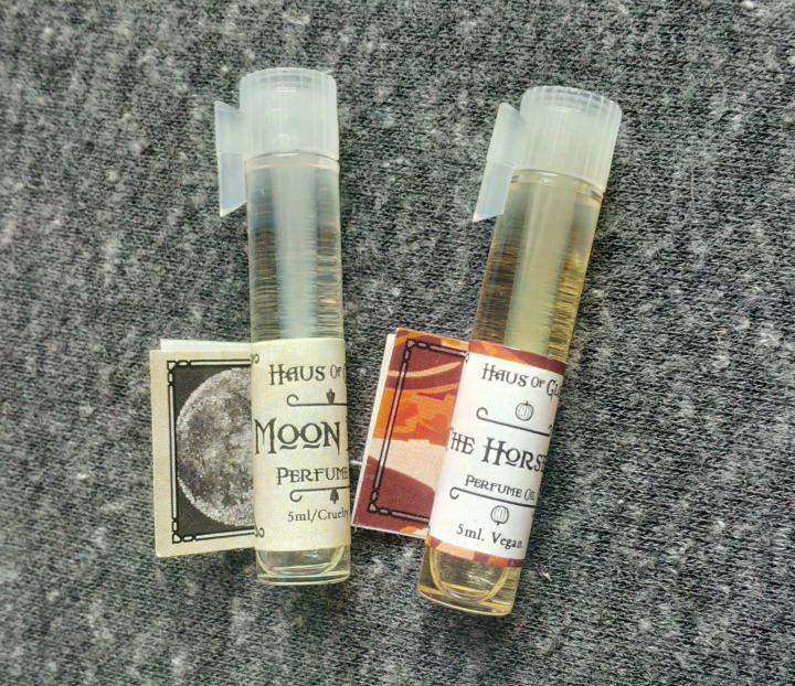 Haus of Gloi perfume sample vials
