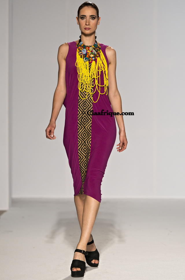 African print style dresse -Christie brown