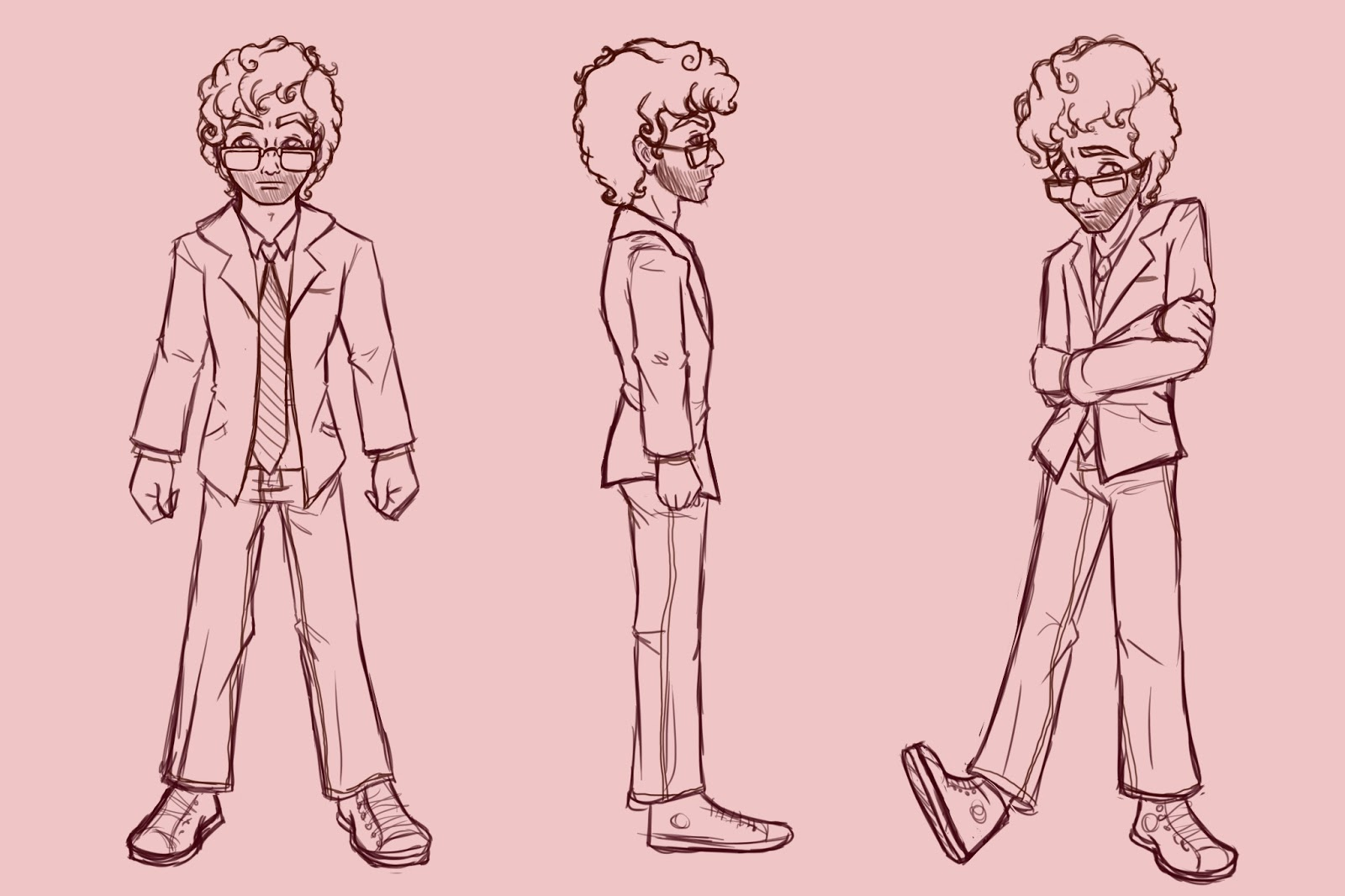 kcday s blog modeling sheet and character bio character modeling sheet front side and 3 4th posed