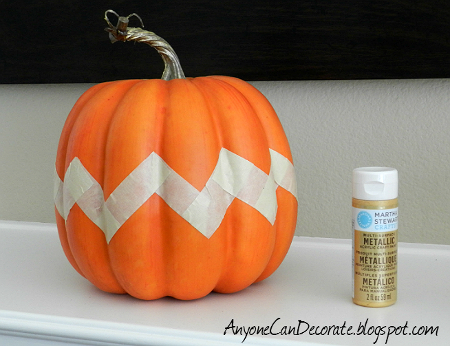 Anyone can decorate fun fall pumpkin easy diy painting Easy pumpkin painting patterns