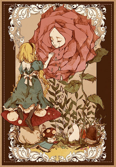Alice in Wonderland, Disney movie, Alice in wonderland anime
