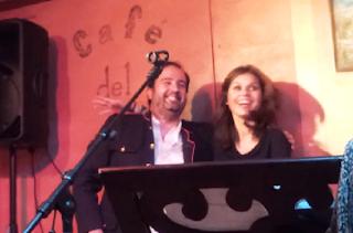 """Nuria Elósegui y Carlos González, esta noche en el """"Blues Carichi Club"""""""