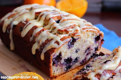 Orange Blueberry Muffin Bread