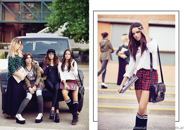 Moda otoño invierno 2014. 47 Street otoño invierno 2014 marcas argentinas de ropa de moda.