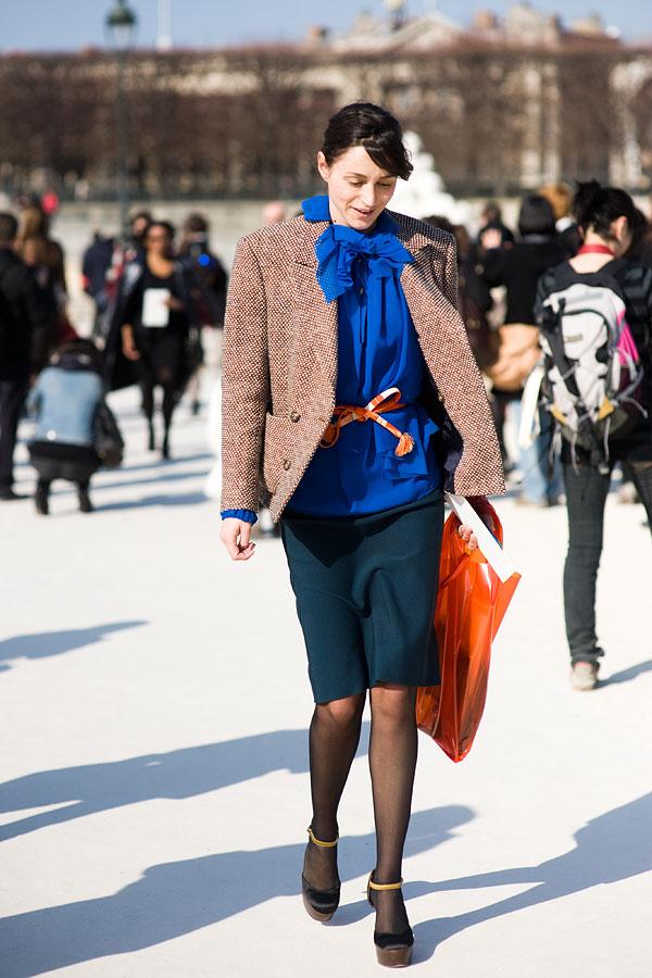 Vanessa Jackman: Paris Fashion Week AW 2011