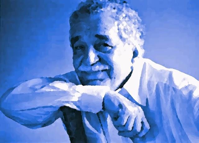 Variación sobre una fotografía de Gabriel García Márquez.
