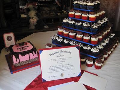 College Graduation Cakes Cupcakes