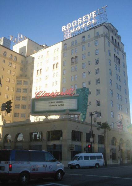 Paranormal california haunted hollywood and marilyn for Hollywood beach resort haunted