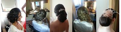 recogidos y peinados de novias madrid.