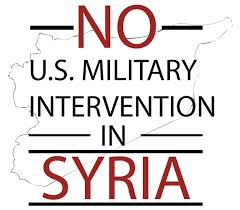 Image result for no war in syria