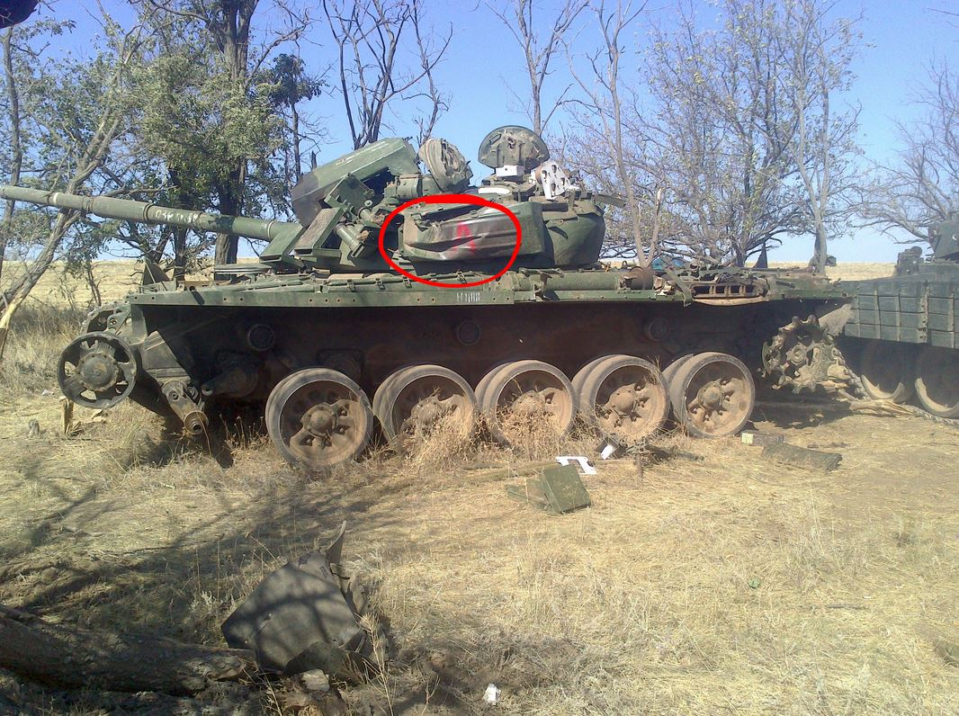 Iragi T72 tank in Desert Storm. The T72 was no match for the ...