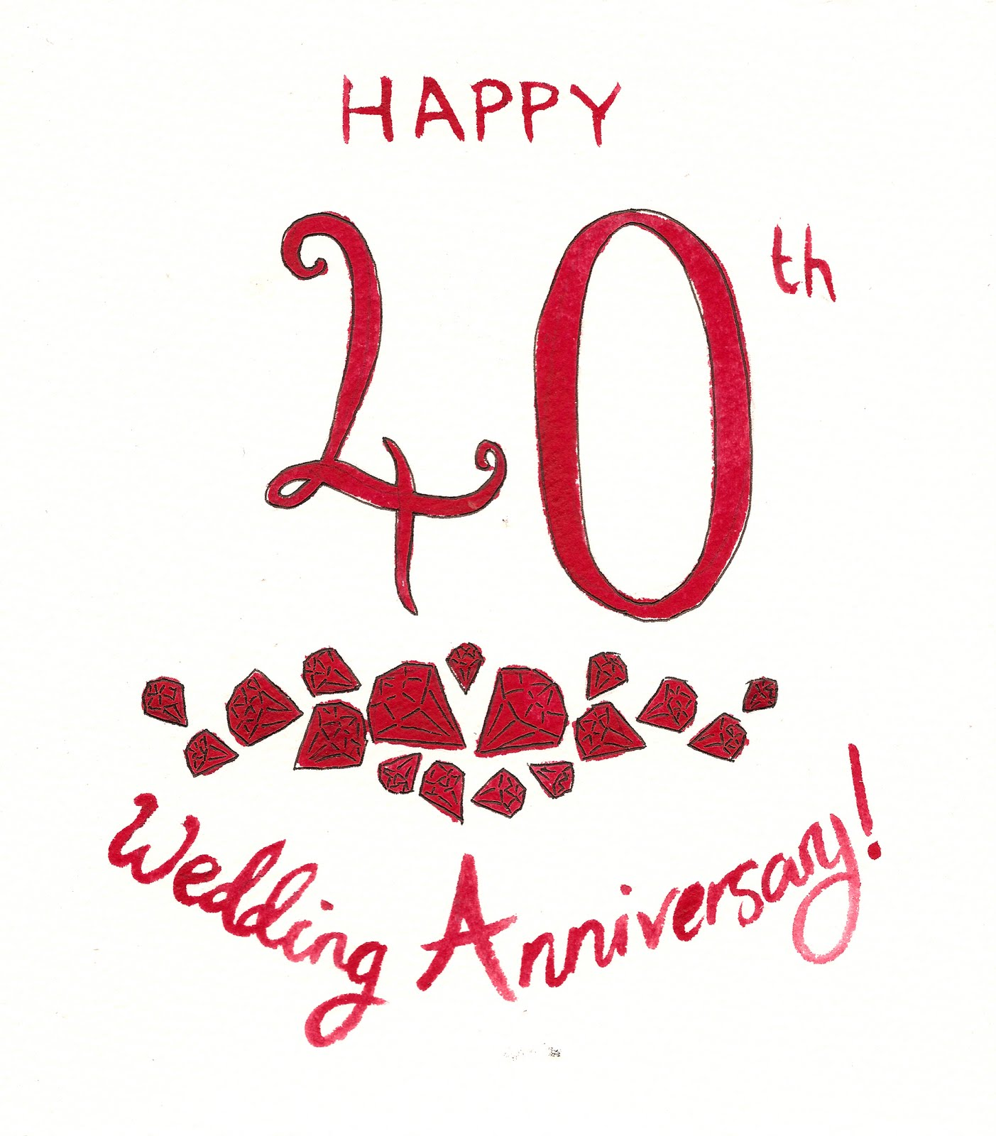 free clip art for wedding anniversary - photo #21