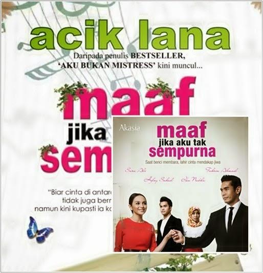 Senarai Lagu Tema OST Maaf Jika Aku Tak SempurnaTV3 Slot Akasia Maaf Jika Aku Tak Sempurna TV3 2014