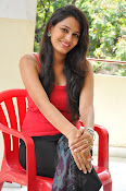 Swetha Jadhav glam pics in red top-thumbnail-6