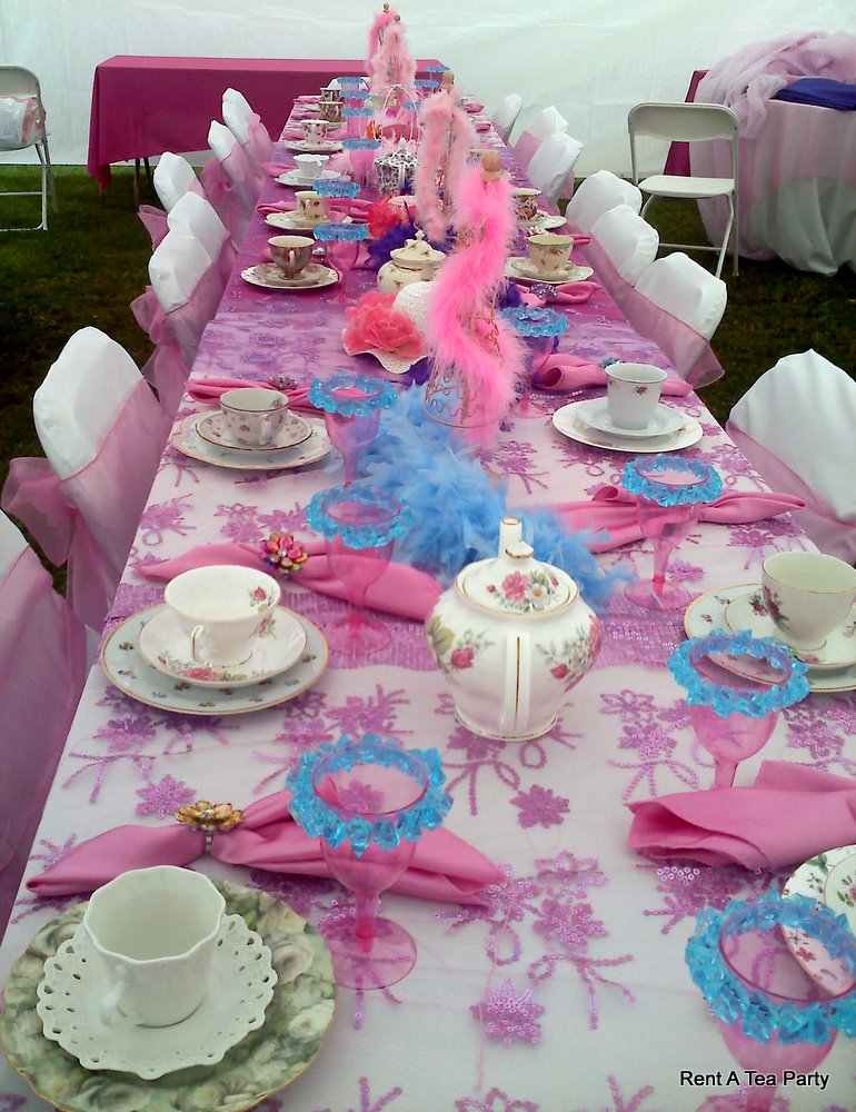 Princess tea party car interior design for Princess birthday party crafts