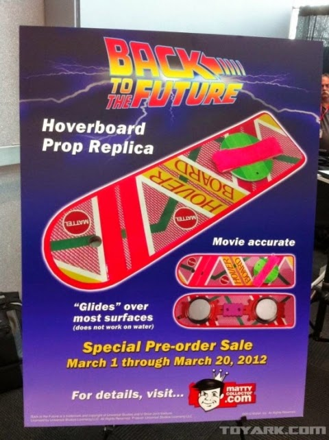 Back to the Future 2 hover board