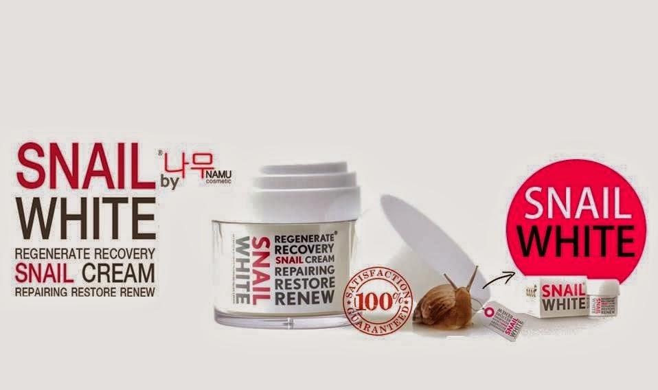 Cik Bebeq Beauty Shop Snail White Cream Original By Namu