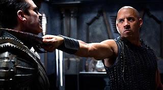 Vin Diesel y Karl Urban