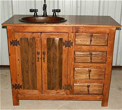 Muebles de Baño Rústicos | Diseños de Baños