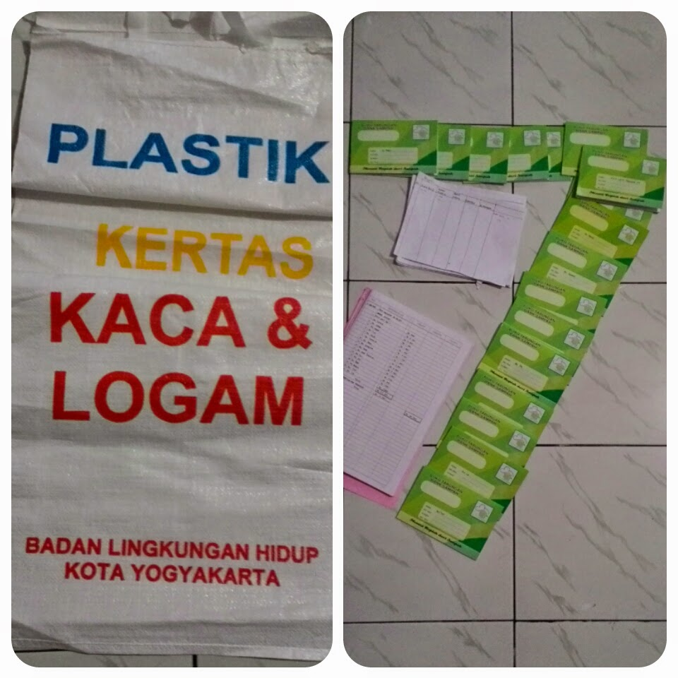 Banner Bank Sampah Pengurus Bank Sampah