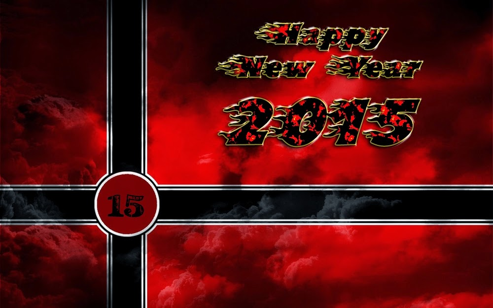 Most Beautiful Happy New Year 2015 Greeting Cards Images