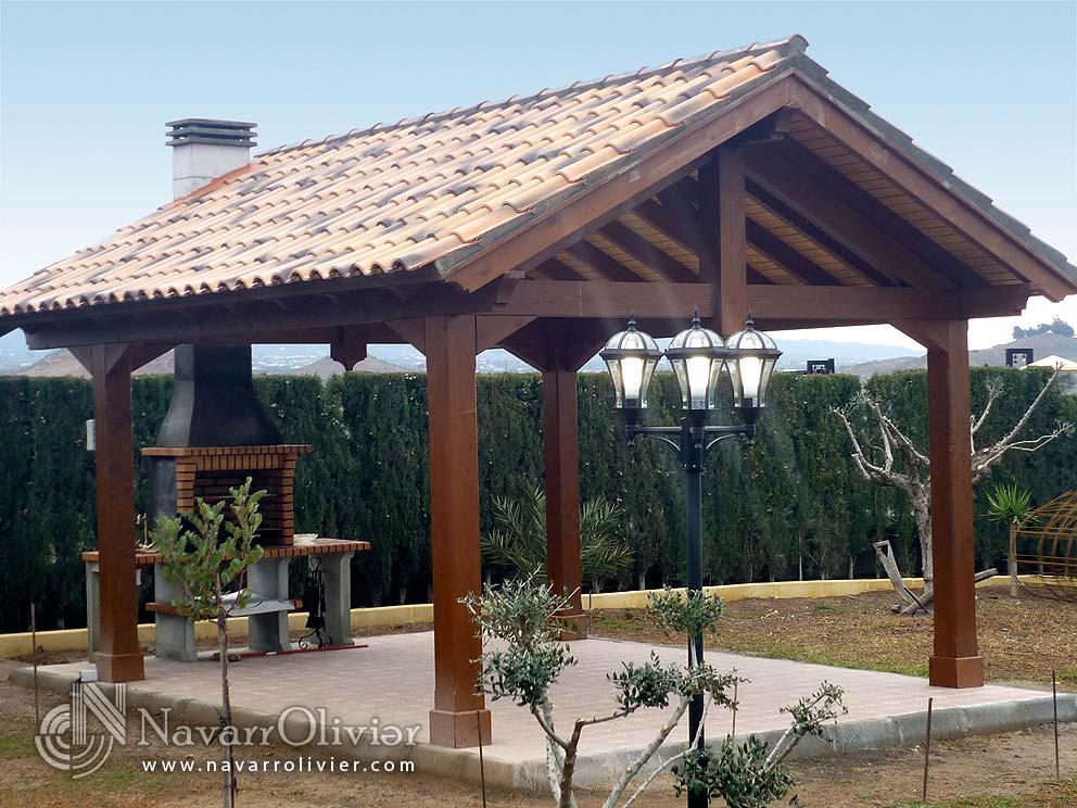 Pergolas de madera pictures - Pergolas de madera valencia ...