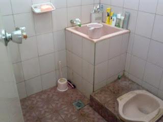 wc jongkok modern