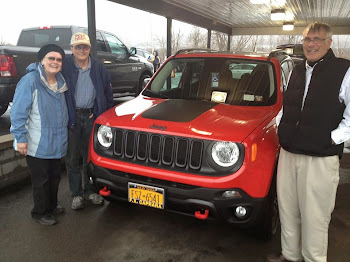 Local Car Sales Veteran John Northrop Sell's Area's First Jeep Renegade