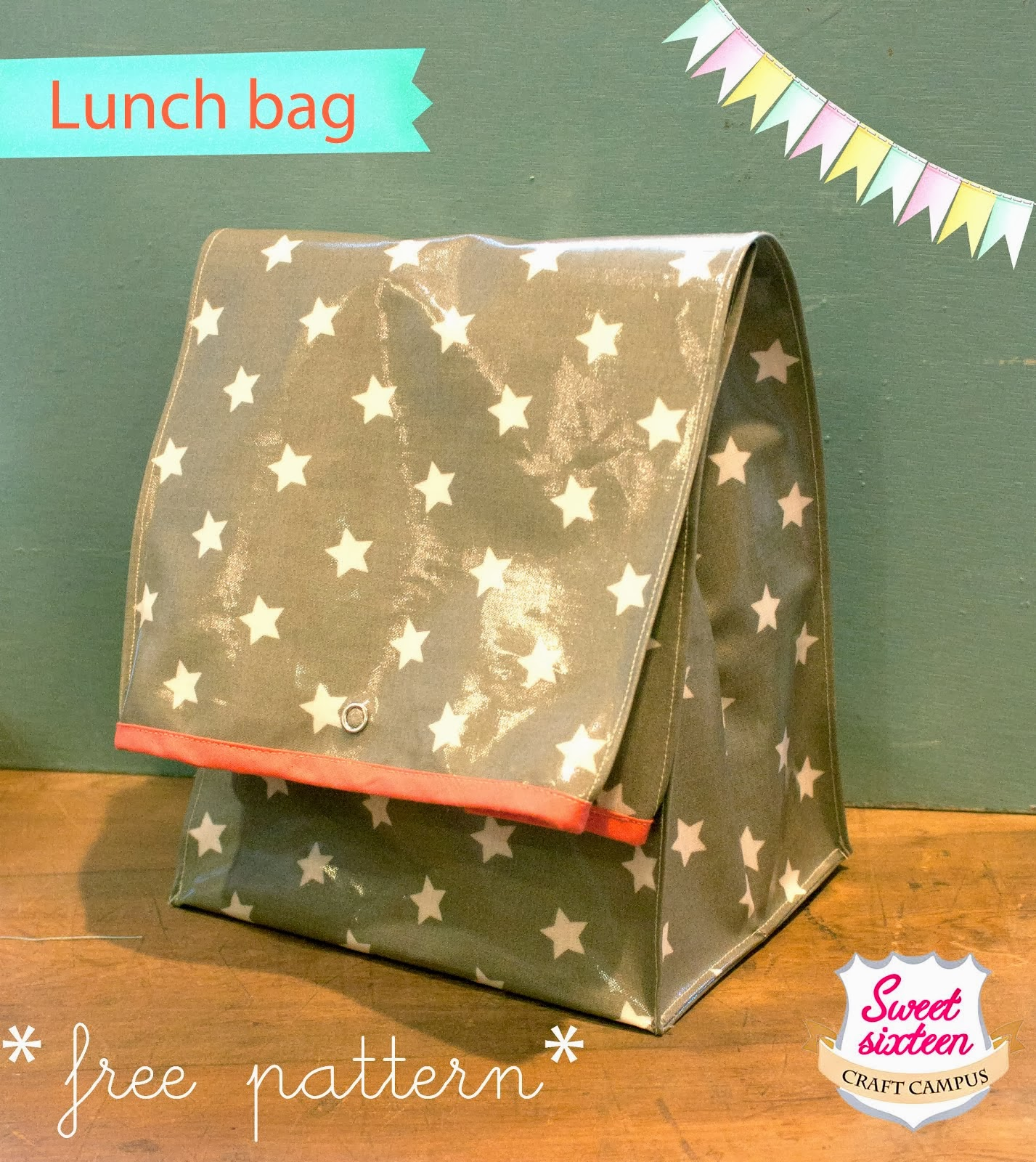 FREE TUTORIAL LUNCH BAG