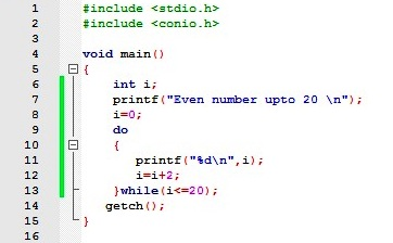 do while loop in c c language