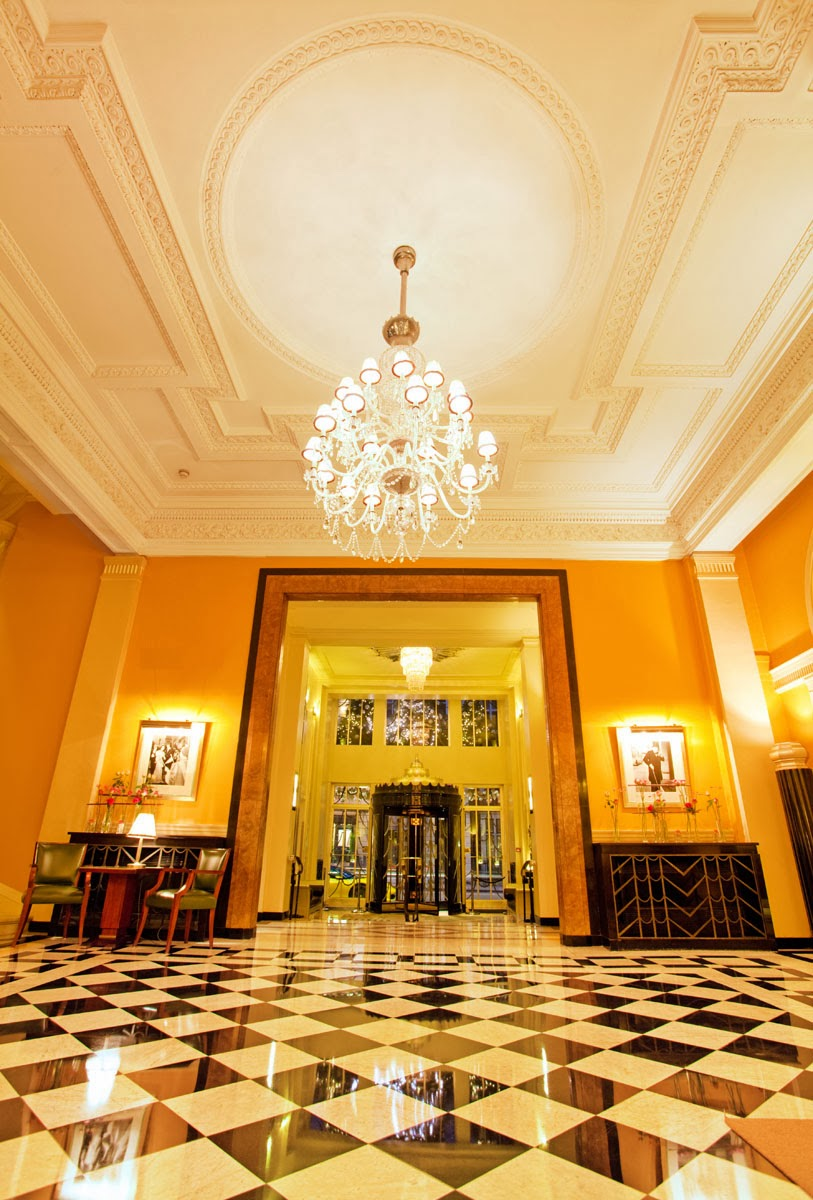 Claridge's Foyer, an art deco masterpiece