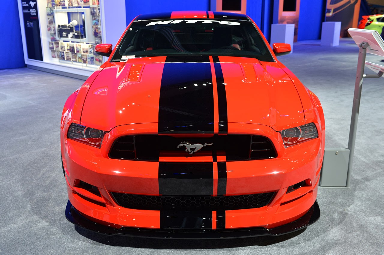 Red Mustang 2014