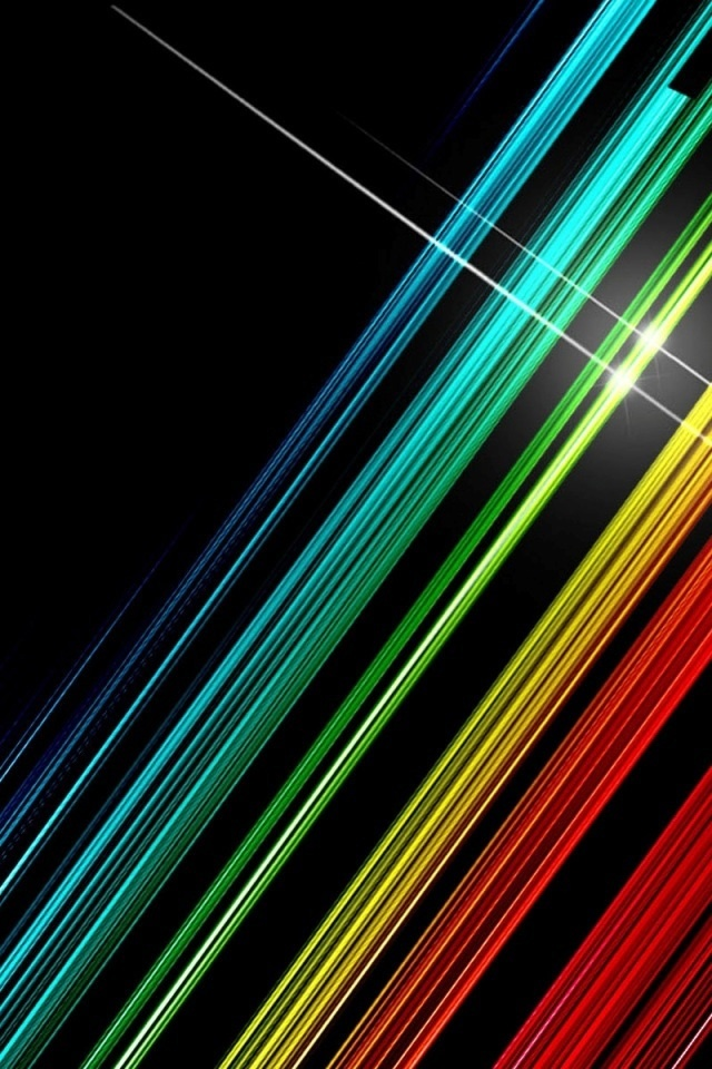 free iphone wallpapers hd awesome color lines iphone
