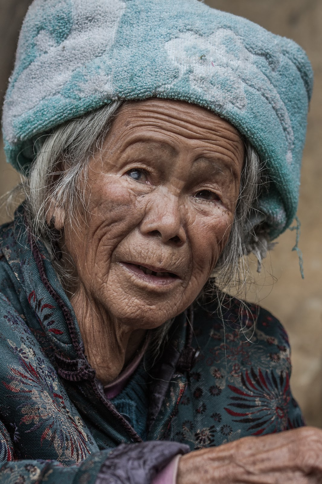 Old Chinese Woman Old chinese woman
