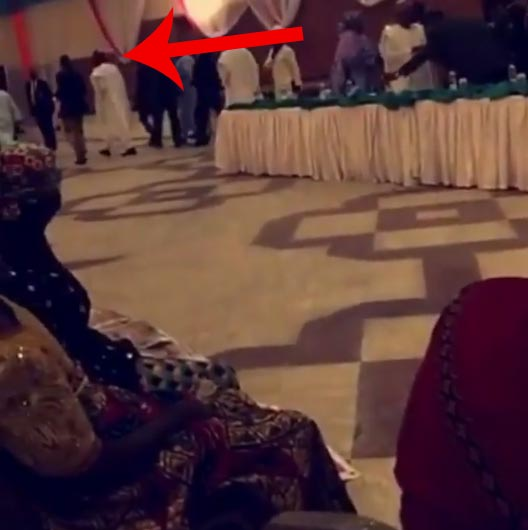 See The Moment Angry President Muhammadu Buhari Walked Out Of Meeting With Chibok Girls Parents (Photo, Video)