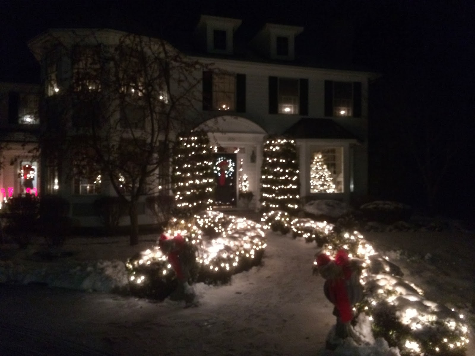 Might Be Bit Early For Holiday Lights >> This Side Of Fifty December 2013 Christmas Letter