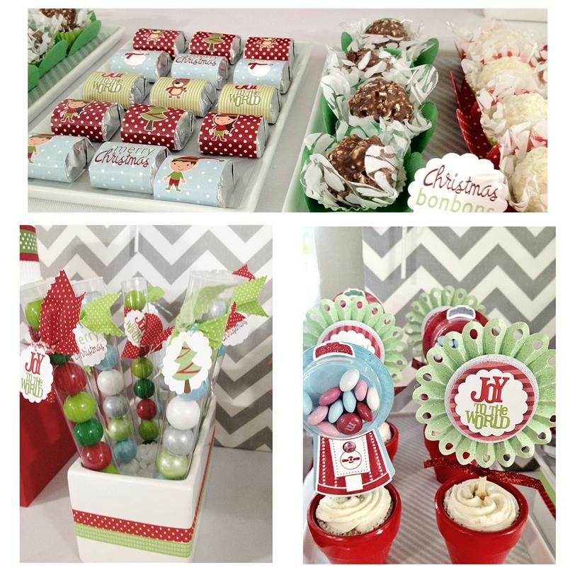 Christmas DIY Dessert Buffet Ideas - My Visual Home