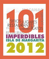 101 IMPERDIBLES DE MARGARITA 2012