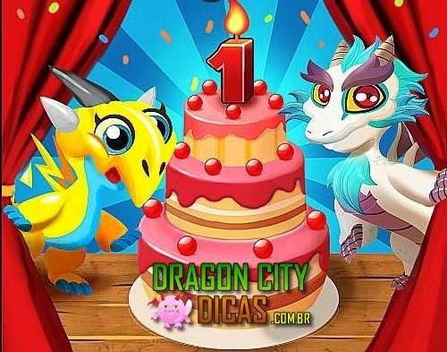 Novidades no Dragon City